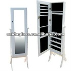 dressing cabinet with lock up devise