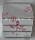 NSJ037 Printing glass jewelry box