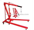 2 Ton hydraulic pneumatic folding shop &workshop crane