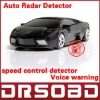 A5 Auto anti radar Russinan Speaking vehicle speed control detector car anti-radar detector
