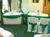 banquet chair cover&organza sash