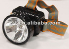 0.5W high-power super bright 1 big LED rechargeable headlight
