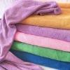 Superfine fiber big bath towel