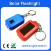 Mini Solar keychain flashlight