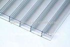 PC HOLLOW SHEET,pc transparent roofing sheet