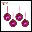 Christmas tree decoration kits sequin ball Xmas foam ball