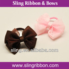 2012 Wholesale Ribbon Elastic Hair Band/Bow Tie Hair Band/Hair Band Bulk