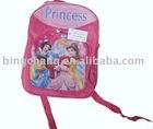 600D material cartoon's kids backpack