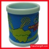customer 3D soft pvc cover mug cup