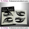 2013 New Design Magic Instant eyeshadow stickers,eye temporary tattoo,sexy eye tattoo