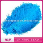 2012 hot sale colorful ostrich feather for wedding decoration