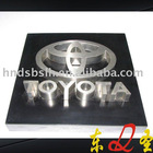 High-quality stainless steel letter signs