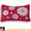 beautiful flower soft home decorate embroidery cushion