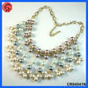 2013 New product fashion costume colorful beads modern pearl necklace design
