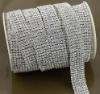 6 rows clear fashion rhinestone chain for wedding cake decoration