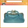 crystal rhinestone evening lady bag beaded clutch (LP-005)