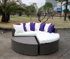 Rattan/Wicker Sectional Lounge bed (ML014)