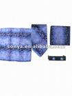 Fashion men's silk necktie set