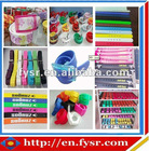 fashion colorful silicone belts with oem service available