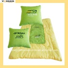 (open as a quilt)custom logo embroidered promotional Cushion(YXPIL-1110102)
