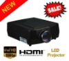 Projector High lumens HDMI port for cinema system 1024X768