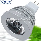 Popular Design Most Powerful LED Spotlight 1W(CE&ROHS)