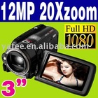 Full HD 1080P 12MP Digtial Camcorder DV HD-9TZ
