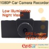 Full HD 1080P Car Camera Recorder with GPS Logger