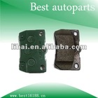 Brake pad for Toyota corona 04466-30210