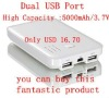 5000mAh Power bank for mobile, IPhone and Ipad Series