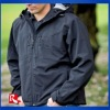 see bullets 100% polyester soft shell/waterproof bonded jacket/ outer wear waterproof and windproof jacket