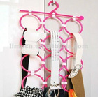 Popular Round Plastic Scarf Hanger with Hooks