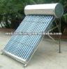 Integrative heat pipe pressurized solar water heater