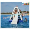 2012 top Reliable quality inflatable exciting climbing water slide water park toys for sale (wat-586)
