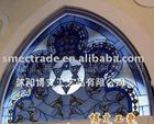church glass/tiffany glass/art glass/multicolor glass/decorative glass JT-01