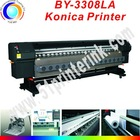 Large format solvent printer BY-3308LA with konica-512 printerhead