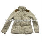2012 Fashionest autumn women jacket for fake memory fabric