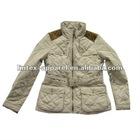 2012 Fashionest autumn women jacket for fake memory fabric