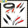 Hot Selling Qualified custom y adapter audio cable with different size