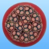 PVC insulated braided shielded PVC sheathed fire-resisting control cable