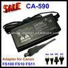 Universal adapter CA-590 for Canon FS10 FS11 FS100