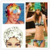 2011 latest woman Flower swim cap,hot,hot!