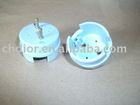 Competitive price of led tube parts T10 led lamp tube holder end caps