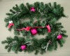 Bauble Floral Garland