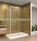 luxury bathroom shower door
