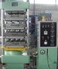 Rubber tile press machine