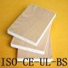 Magnesium cabinet board with wood veneer