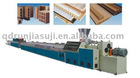 qingdao wpc wood plastic composite floor extrusion mould