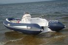 fiber glass fishing boat