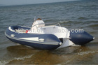 fiber glass fishing boat